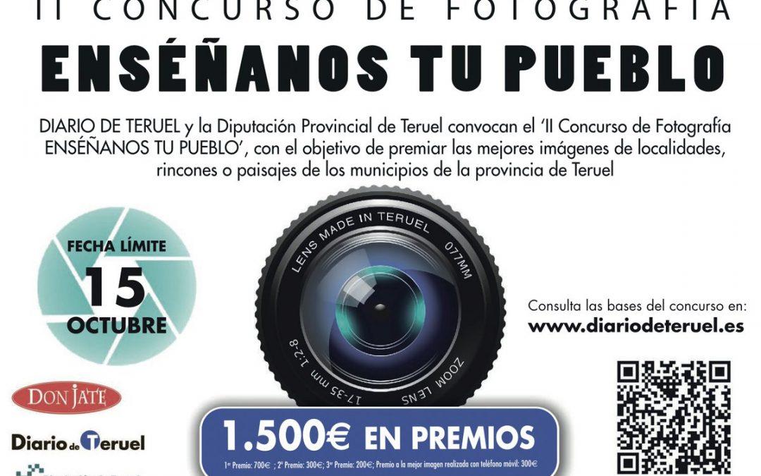 """II Concurso de Fotografía """"Enséñanos tu pueblo"""""""