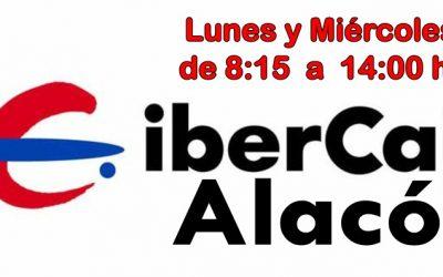 HORARIO DEFINITIVO OFICINA IBERCAJA en ALACÓN