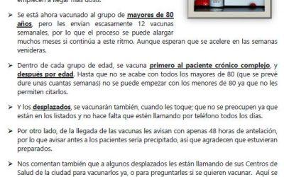 INFORMACIÓN VACUNACIÓN COVID-19