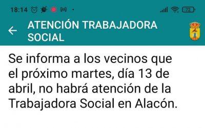 SERVICIO TRABAJADORA SOCIAL
