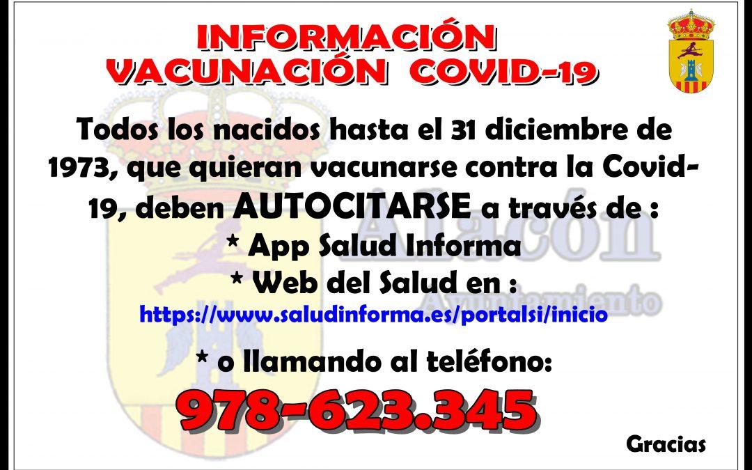INFORMACIÓN VACUNACIÓN  COVID-19 __ nacidos hasta 31-12-1973