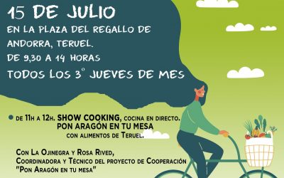 MERCADO AGROECOLÓGICO ANDORRA ___15 DE JULIO