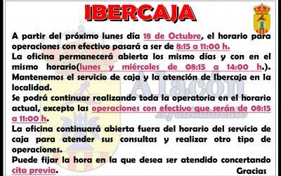INFORMACIÓN DE IBERCAJA en ALACÓN